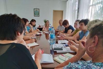 В Еланецкой райгосадминистрации прошло рабочее совещание с поселковым и сельскими главами