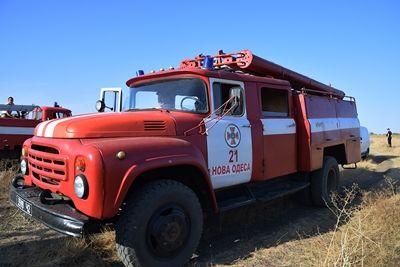 За последнюю неделю дважды масштабно горел природный заповедник в Новоодесском районе (Фото)