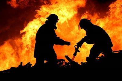 В Новоодесском районе горел жилой дом