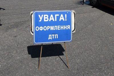 Возле Новой Одессы, пьяный полицейский за рулём авто вылетел с трассы