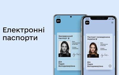 Україна стане першою країною у світі, що прирівняє цифрові паспорти до звичайних