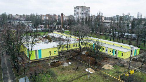 Триває ремонт радіологічного корпусу КНП «Миколаївський обласний центр онкології»