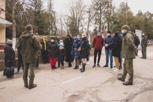 День відкритих дверей у Миколаївському полку з нагоди відзначення 7-ї річниці створення Національної гвардії України