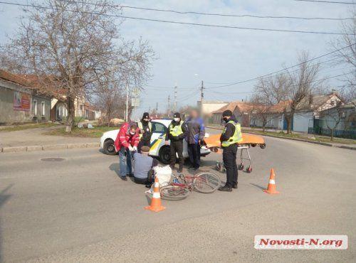 В Николаеве водитель на внедорожнике сбил велосипедиста