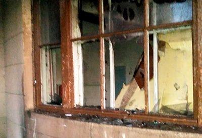 В Николаеве неизвестные подожгли Дом культуры железнодорожников