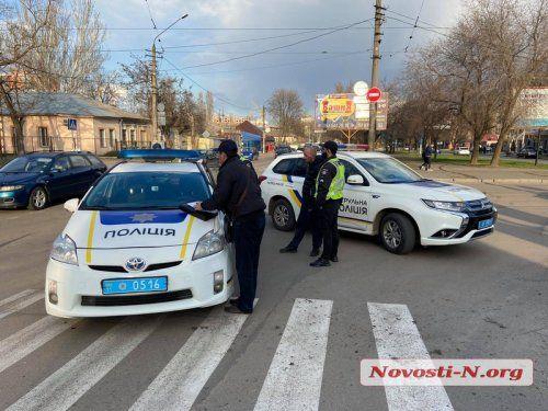 В Николаеве пьяный мужчина угнал авто и устроил ДТП (Фото)
