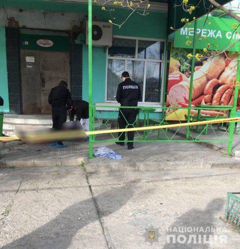 В Николаеве мужчина во время ссоры зарезал своего оппонента прямо возле продуктового магазина