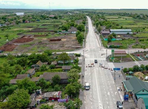 Завершено ремонт ділянки автошляху Н-14 біля села Возсіятське