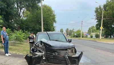 В Николаеве внедорожник депутата-латифундиста попал в ДТП (Фото)