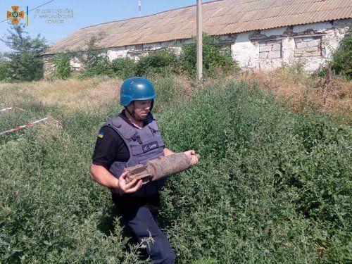 В Николаеве пиротехники уничтожили три артснаряда