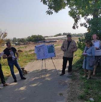 Громадські слухання в селі Возсіятське