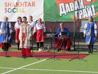 Березанська громада відзначила День козацтва і День захисника України святково-розважальним заходом